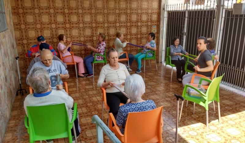 Centro Dia para Idosos com Restrição de Mobilidade Jardim Itamarati - Centro Dia para Idosos