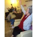 asilo para idoso mais próximo Vila San Martin