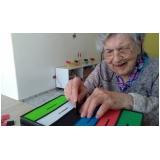 atividade com idosos centro dia mensal Jardim Presidente Dutra
