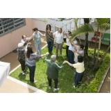 atividade para idosos em asilos mensal Parque Rio das Pedras