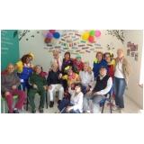 atividade recreativas para idosos mensal Vila 31 de Março