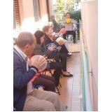 clínica com lazer para idoso no centro de convivência CECAP