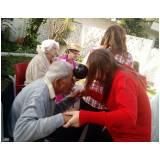 clínica dia para idoso com Alzheimer  preço Parque São Domingos