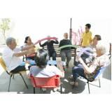 clínica dia para idoso com atividades Vila Georgina
