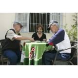 espaços de lazer para idosos preço Vila Iapi