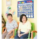 espaços particulares para idosos Jardim Oliveira,