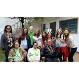 lar para idosos de curta permanência Centro
