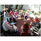 lazer para idoso no centro de convivência semanal IAPI