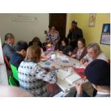 moradias para idosos com atividades recreativas Vila Gênesis