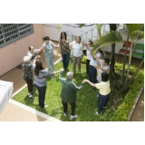 recreações para idosos em asilo Jardim do Trevo