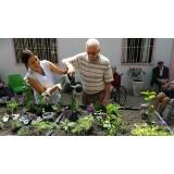 recreação com idosos em asilo