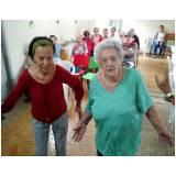 serviço de creche para idoso com atividades físicas Centro