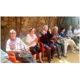 serviço de recreação com idosos em asilo Vila Menck